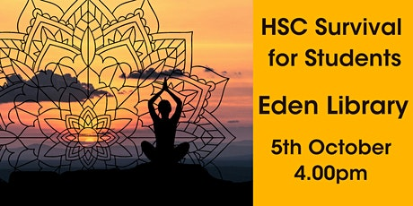 HSC Survival for Students @ Eden Library tickets