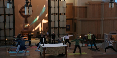 Cathedral Yoga at Saint Marks with Wendy (pay what you can) tickets