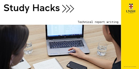 Study Hacks: Technical report writing tickets