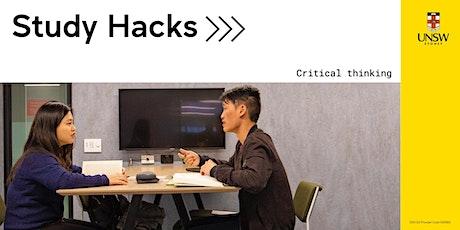 Study Hacks: Critical thinking tickets