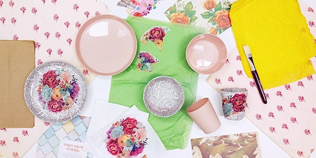 Inspirations Craft Group @ Girrawheen Library - Trinket Dish Decoupage tickets