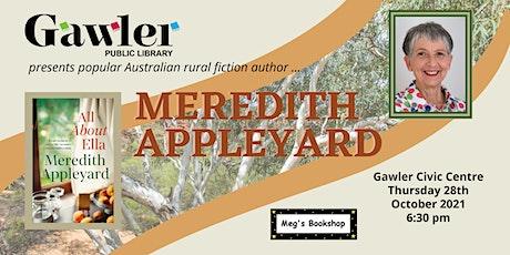 Meredith Appleyard : Q&A Author Talk tickets
