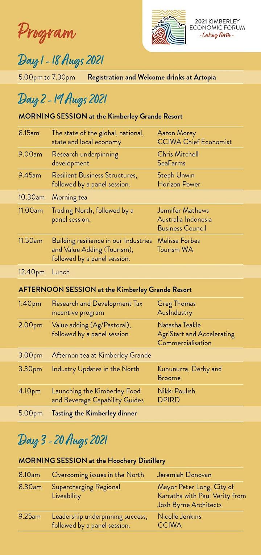 Kimberley Economic Forum image