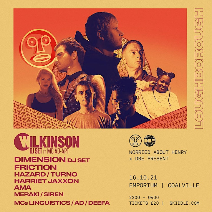 DBE x WAH Pres... WILKINSON, DIMENSION, FRICTION, TURNO  + More image