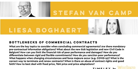 Bottlenecks of commercial contracts tickets