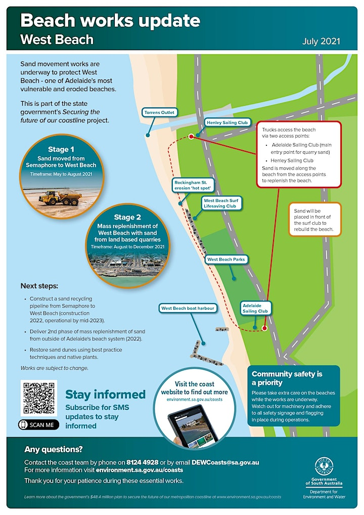 What's happening on Adelaide's beaches - West Beach event image