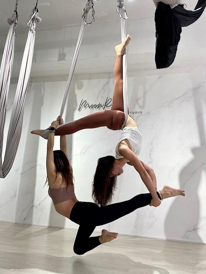 情侶空中瑜伽體驗班 Aerial Yoga for Couples image