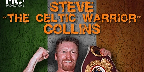 An evening with Steve Collins followed by the big AJ vs Usyk fight tickets