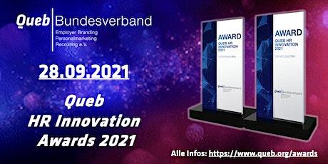 Queb HR Innovation Awards 2021 Tickets