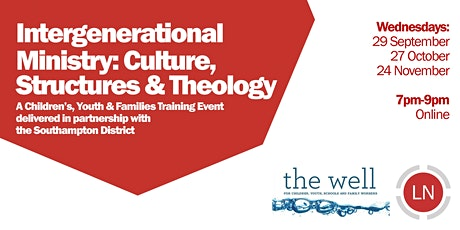 Intergenerational Ministry: Culture, Structures & Theology tickets