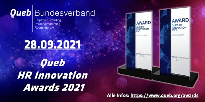 Queb HR Innovation Awards 2021: Bild
