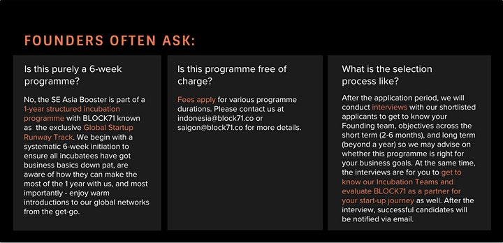 Ask Me Anything - SE Asia Booster Programme 2021 image