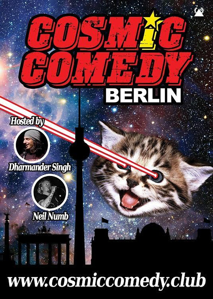 English Comedy Berlin with Pizza and Shots: Bild