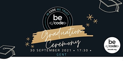 BeCode Gent – Graduation – 30-Sep-2021