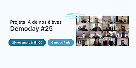 Data Demoday #25 - Jedha Bootcamp billets