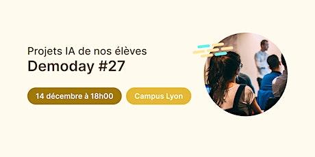 Data Demoday #27 - Jedha Bootcamp | Campus Lyon billets