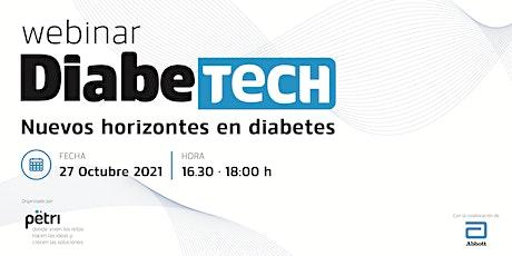 Diabetech · Nuevos horizontes en diabetes tickets
