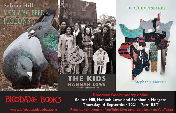 Launch reading by Selima Hill, Hannah Lowe and Stephanie Norgate image