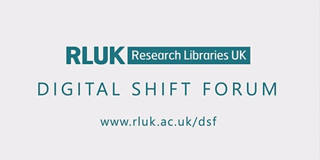 RLUK DSF: Future-proofing the Research Library: Designing Talent Strategy tickets
