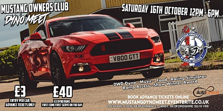 Mustang Owners Club Dyno Meet tickets