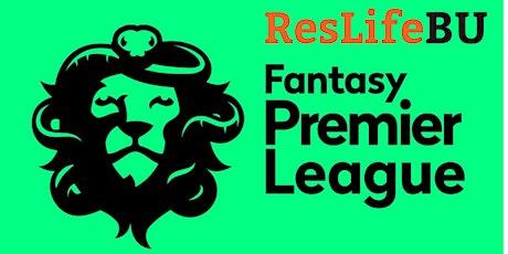 The ResLifeBU Fantasy Football League tickets