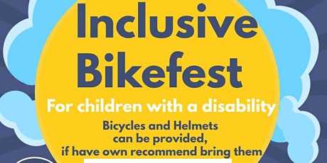 Inclusive Kids Bikefest BBoro (11am-11.30am) for children with a Disability tickets