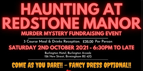 Haunting at Redstone Manor tickets