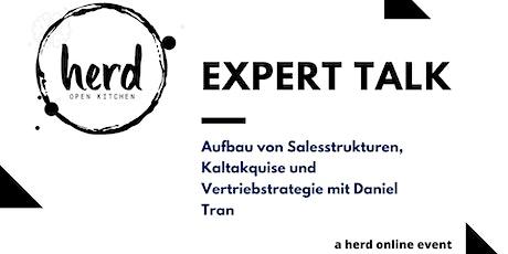 Aufbau von Salesstrukturen, Kaltakquise und Vertriebstrategie - Daniel Tran Tickets