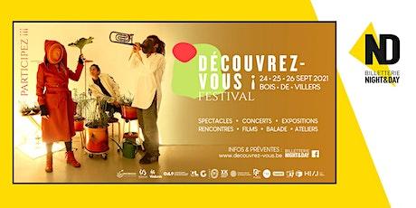 DÉCOUVREZ-VOUS ¡ FESTIVAL billets