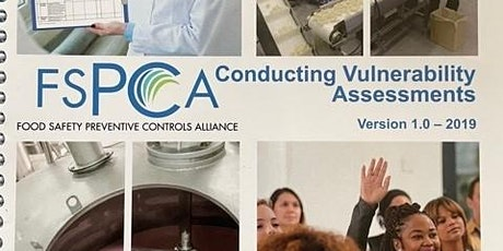 Intentional Adulteration Vulnerability Assessment Course, Chicagoland tickets