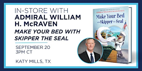 Admiral William H. McRaven Reading and Book Signing! tickets