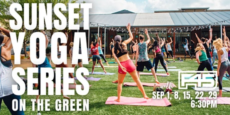 Sunset Yoga Series with F45 tickets