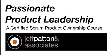 Live Online Passionate Product Leadership Workshop - US/EUR - 4-7OCT tickets