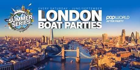 London Boat Party with FREE After Party! tickets