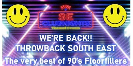 Throwback South East: 90's Night tickets