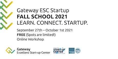 Gateway ESC Startup FALL SCHOOL 2021 Tickets