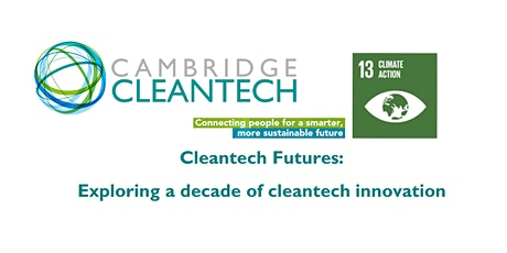 Cleantech futures: join our 10th anniversary tickets