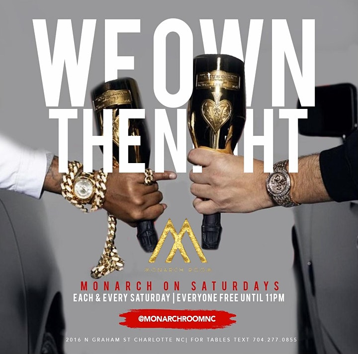 Monarch on Saturdays: We Own The Night image