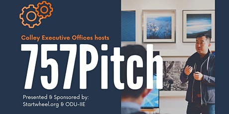 757 Pitch  - Sponsors Colley Excutive Offices, Startwheel.org and ODU-IIE tickets