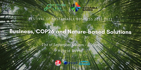 Business, COP26 and Nature-based Solutions [Conference FoSB 2021-2022] billets