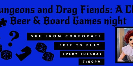 Dungeons and Dragfiends: A Queer Board game night tickets