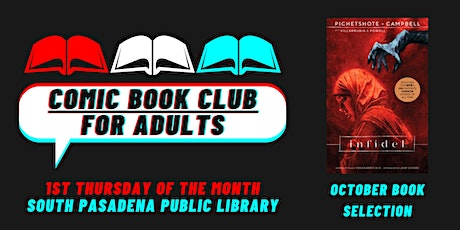 Comic Book Club for Adults - October 7, 2021 Meeting tickets