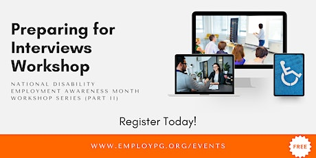Prepping For Interview: Virtual Interviewing (NDEAM 2021 Workshop Part II) tickets