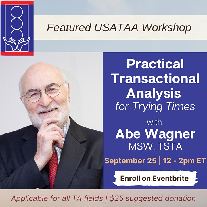 Practical Transactional Analysis for Trying Times image