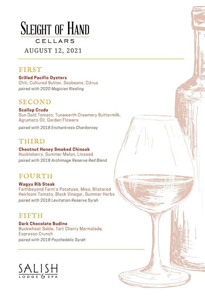 Slight of Hand Winemaker Dinner image
