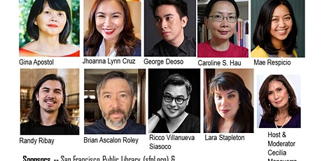 HOT OFF THE PRESS LITERARY READING with 9 Filipino & Filam Authors tickets