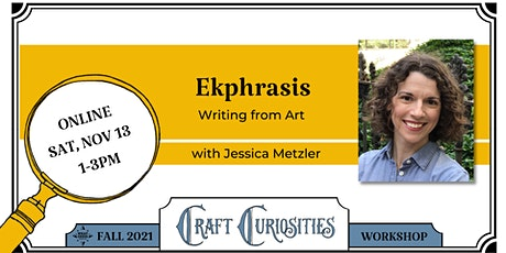 Ekphrasis: Writing from Art tickets