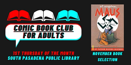 Comic Book Club for Adults - November 4, 2021 Meeting tickets