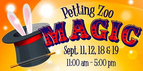 Petting Zoo Magic tickets
