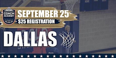 USA Basketball Coach Academy - Dallas tickets